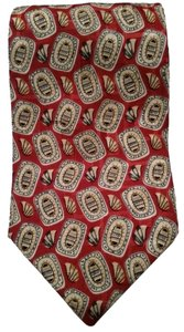 London Fog London Fog Hydrofuge Italian silk (short) tie, made in USA