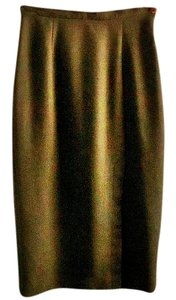Pira Italian Sleek Skirt brown