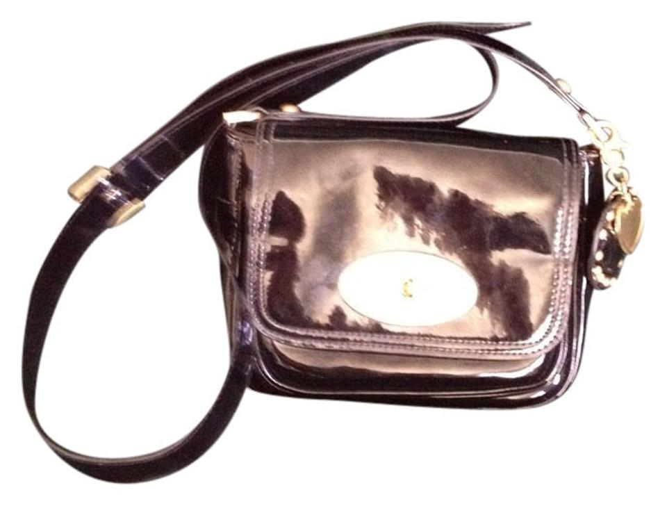 Mulberry for Target Black Patent Faux Leather. Cross Body Bag - Tradesy 3fec6216e7