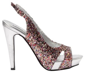 Touch Ups Glitter Formal Prom Multi Pumps