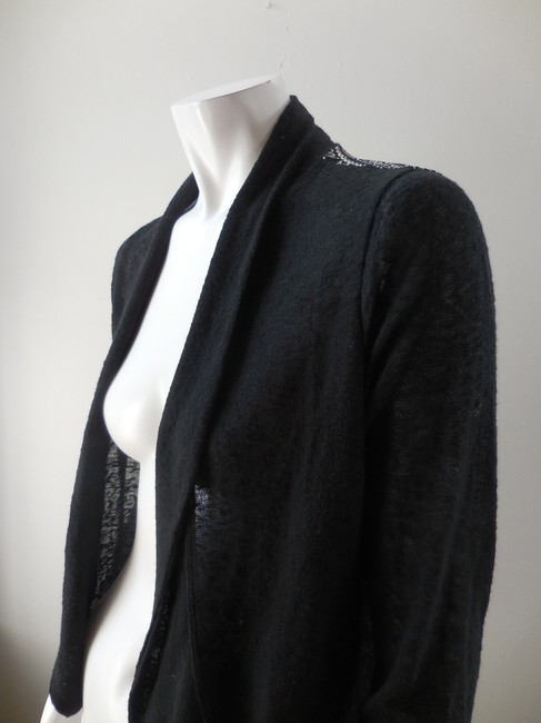 Olivia Sky Sweater Jacket Open Front Drape 1993 Cardigan