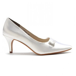 Touch Ups Chandra Nib Bridal Heels By Touch Ups Wedding Shoes