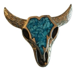 Very cool bolo tie steer ornament