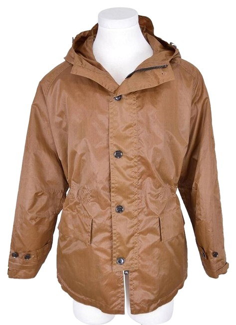 Preload https://item5.tradesy.com/images/burberry-brown-men-s-coated-silk-bronze-amber-raincoat-size-14-l-5075254-0-2.jpg?width=400&height=650