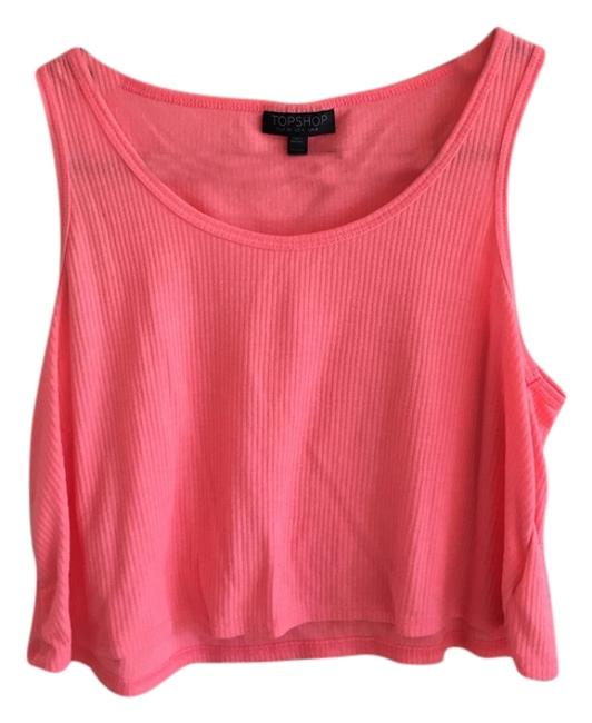 Preload https://item4.tradesy.com/images/topshop-neon-pink-tank-topcami-size-4-s-5075458-0-0.jpg?width=400&height=650