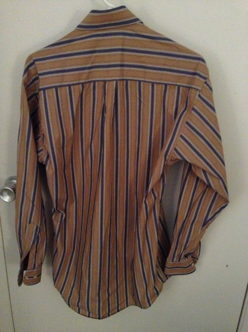 Burberry Button Down Shirt Gold Image 3
