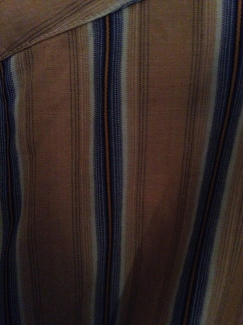 Burberry Button Down Shirt Gold Image 4