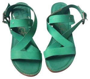 Kelsi Dagger Teal Sandals