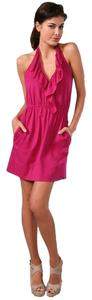 Nanette Lepore short dress Plum on Tradesy