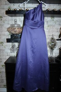 David's Bridal Purple Purple Dress
