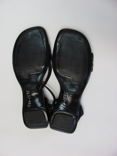 Montego Bay Club Very Good Condition Size 8.00 Black Sandals