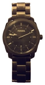 Fossil Machine Three-Hand Date Stainless Steel/FS4774