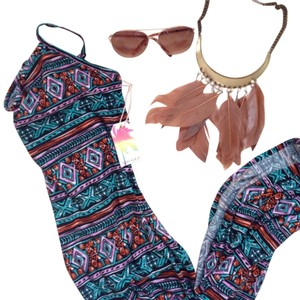 Tribal Maxi Dress by Forever 21