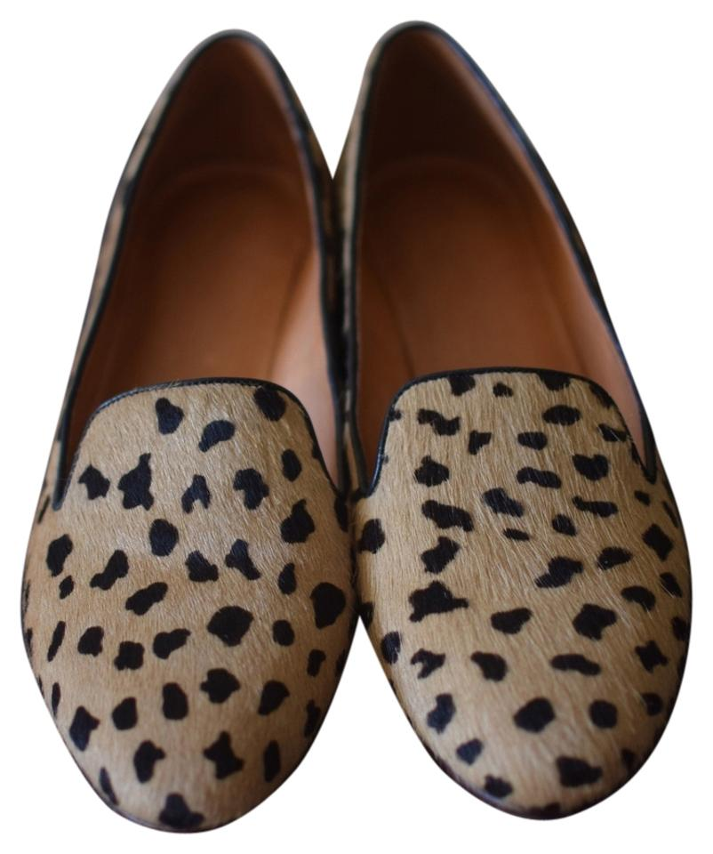 27d2b0bcea2 Madewell Leopard Print The Teddy Loafer In Calf Hair- Flats Size US ...