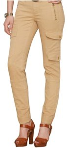 polo blue label Skinny Pants khaki beige color
