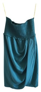 Catherine Malandrino Top Green/Blue