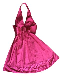 bebe short dress Pink on Tradesy