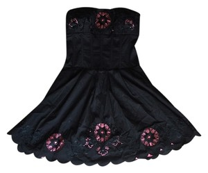 bebe short dress Black & Pink on Tradesy