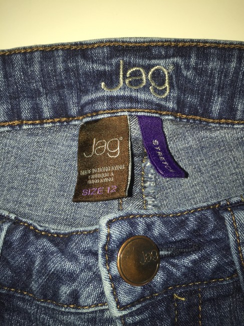 Jag Jeans Relaxed Fit Jeans-Light Wash Image 3