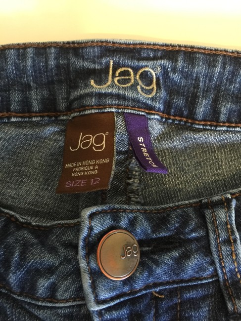 Jag Jeans Relaxed Fit Jeans-Light Wash Image 4