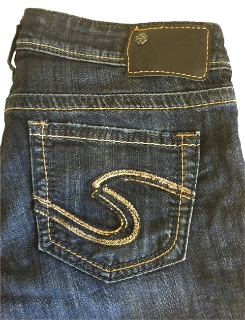 Item - Blue Distressed Aiko Skinny Jeans Size 27 (4, S)