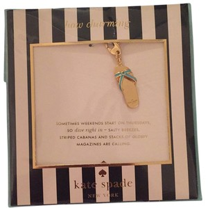 Kate Spade How Charming flip Flop Charm