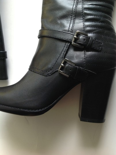 French Connection Leather black Boots