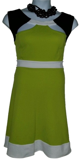 Preload https://item3.tradesy.com/images/ashley-stewart-green-tri-tone-cut-out-skater-knee-length-workoffice-dress-size-24-plus-2x-5080942-0-1.jpg?width=400&height=650