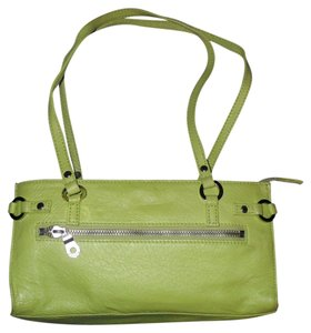 Wilsons Leather Small Purse Hand Neon Lime Shoulder Bag