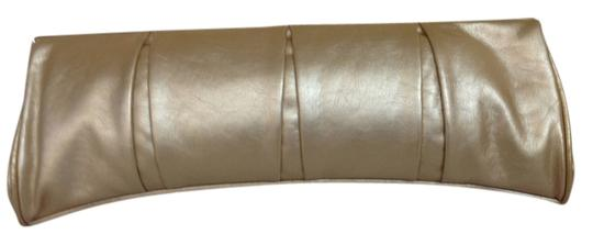 Other Gold Satin Clutch