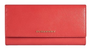 Burberry London Tote in coral pink