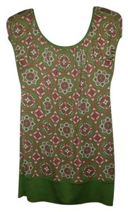 Juicy Couture short dress Geometric Silk Pattern on Tradesy