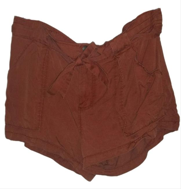 Free People Summer Mini/Short Shorts Maroon