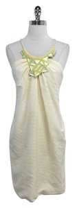 Yigal Azrouël short dress Cotton Silk Blend Sleeveless Shift on Tradesy