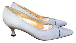 St. John Sky Blue Pumps