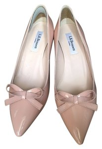 L.K. Bennett Blush Pink Pumps