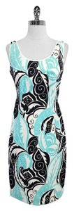 Etecetera short dress Print Cotton Blend Sleeveless on Tradesy