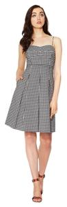 Lafayette 148 New York short dress Checkered Gingham Classic Sweetheart Pleated Chic on Tradesy