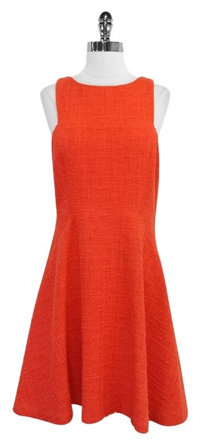 Preload https://item4.tradesy.com/images/tibi-orange-tweed-cotton-blend-sleeveless-knee-length-short-casual-dress-size-12-l-5083033-0-0.jpg?width=400&height=650