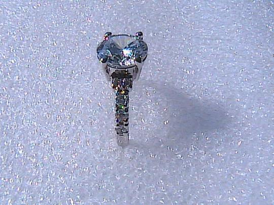 Other 14k White Gold Filled 3.5 cts White Topaz Ring