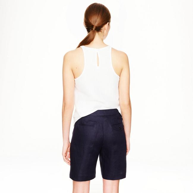 J.Crew Collection Linen Shorts navy Image 6