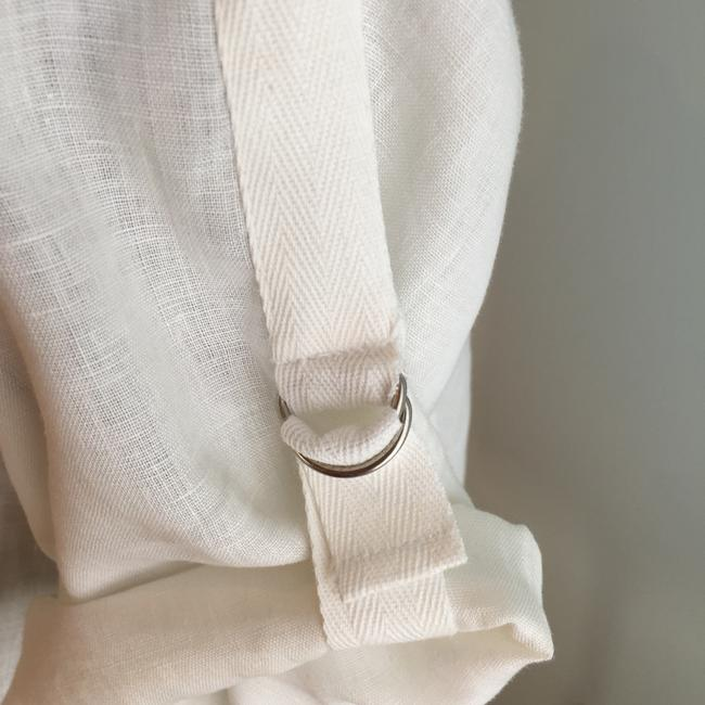 Other Size Small Tops Linen Linen Tops Small Button Down Shirt Ivory Image 2