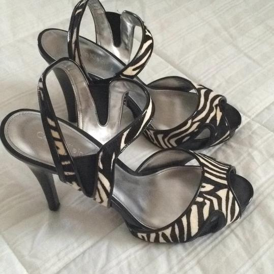 Calvin Klein Black and White / Zebra Platforms