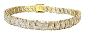 Victoria Wieck Victoria Wieck Marquise and Baguette Line Bracelet 8