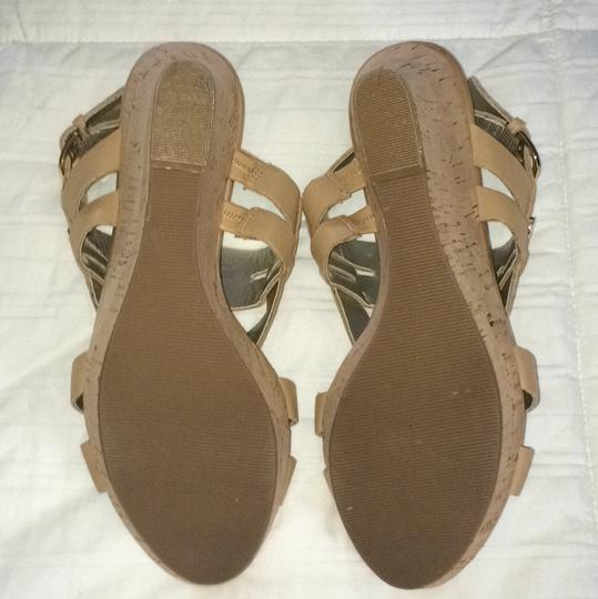 Guess Natural/Nude Wedges