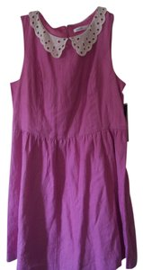 Kensie short dress Orchid Purple on Tradesy