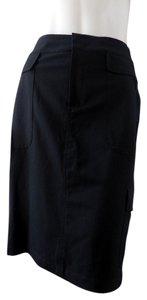 Womyn Casual Athletic Cargo Skirt Black
