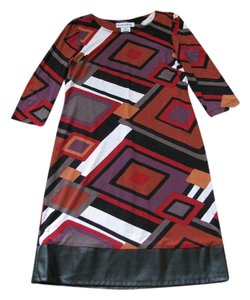 Danny & Nicole short dress Black/red/purple/white/orange on Tradesy