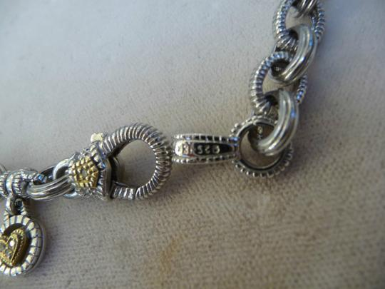 Judith Ripka Judith Ripka 18Kg Sterling Silver Large Link Chain Necklace