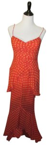 Chetta B. by Sherrie Bloom and Peter Noviello Polka Dot Mermaid Long Dress